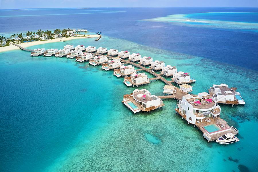 モルディブなら水上コテージと1島1リゾート!おすすめ ビーチリゾート ...